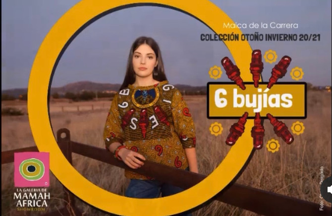 """Diseños con el corazón: colección  """"6 BUJÍAS"""" Otoño/invierno 2020/21"""