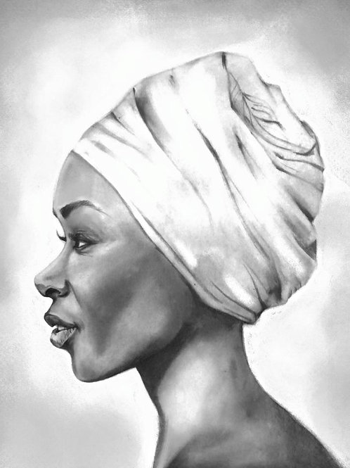 Retrato de Ada okenve, Lydia Mba