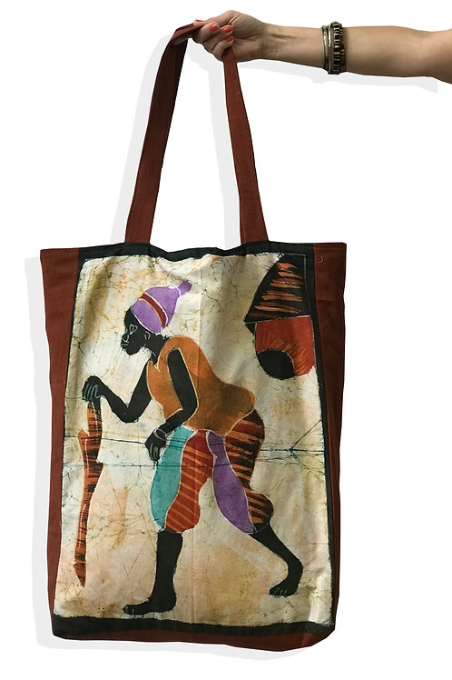 Shopping bag de batik