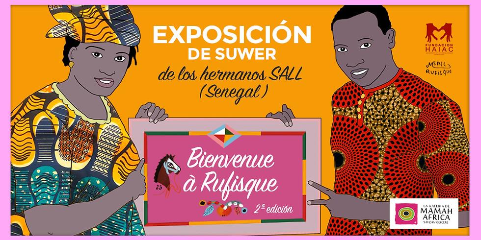 """INAUGURACIÓN DE LA EXPOSICIÓN """"BIENVENUE À RUFISQUE II"""""""