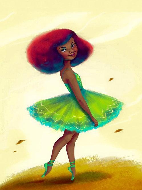 La Bailarina, Lydia Mba