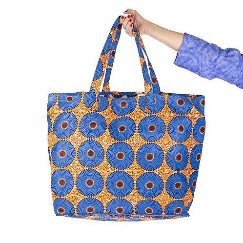 Wax shopping bag