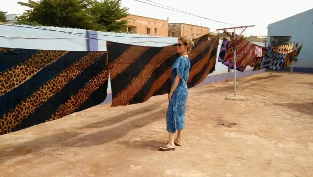Diseños con el corazón: el batik