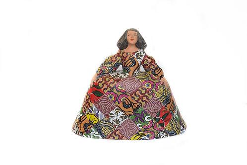 'Menina patchwork'