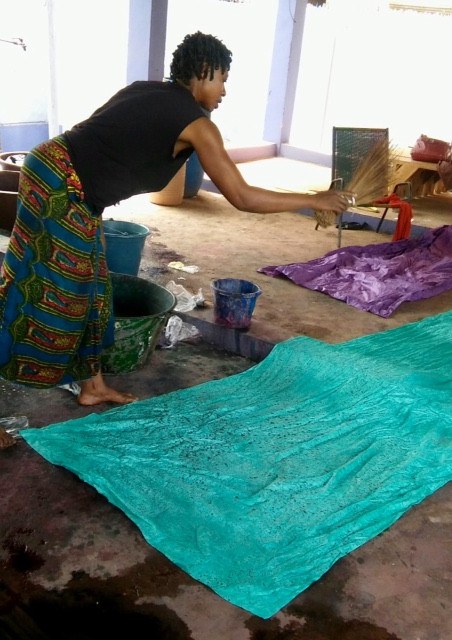 Salpicado del batik