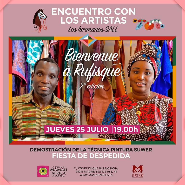 ENCUENTRO CON LOS HERMANOS SALL DE SENEGAL