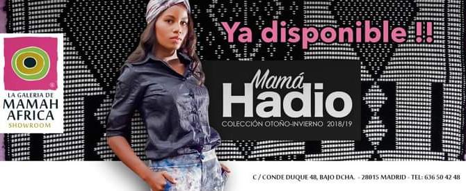 """Diseños con el corazón: colección """"MAMA HADIO"""" otoño/invierno 2018/19"""