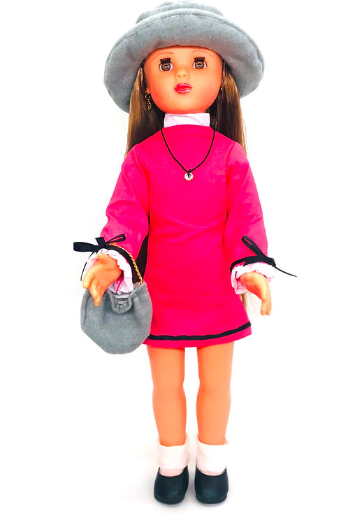 Juanita Vestido Rosa