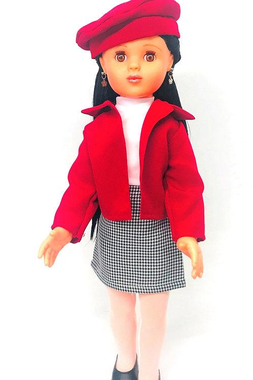 Juanita Traje Sastre Rojo