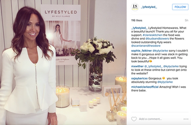 Kyly Clarke, Lifestyled launch