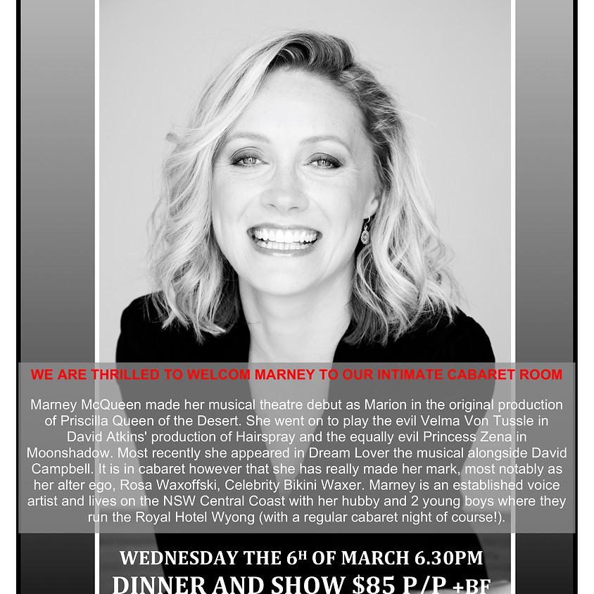 Claire's Pop Up Petit Cabaret Presents Marney McQueen
