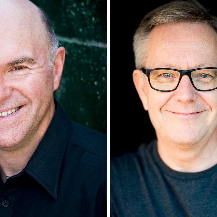 Claire's pop up petit cabaret presents Phil Scott and Jonathan Biggins