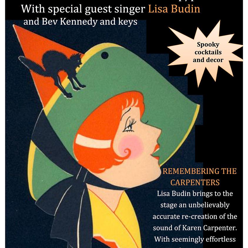 Claire's Pop Up Petit Cabaret presents Lisa Budin