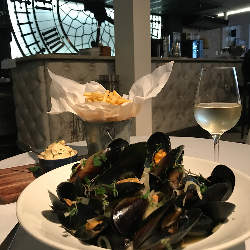 Tuesday nights: Soire Moules et Frites