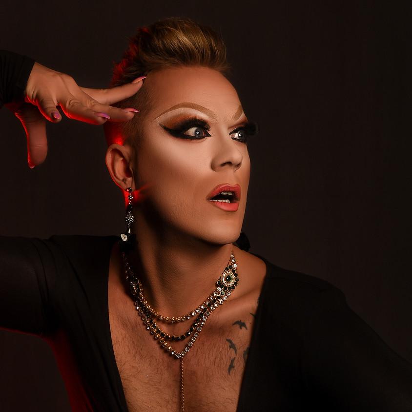 "Claire's Pop Up Petit Cabaret presents Velma Celli, ""The UK's Queen of Live Vocal Drag"""