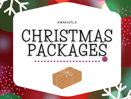 Kwakiutl's Christmas Packages