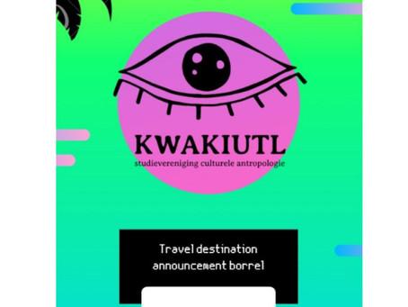 Travel announcement borrel