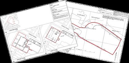 Land Registry Compliant Plans