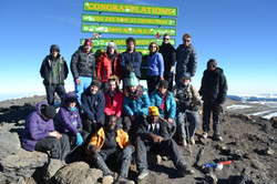 Summit Mt Kilimanjaro with SRC Team