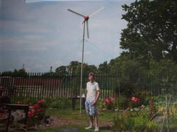 RM Wind Turbine at Blakeston