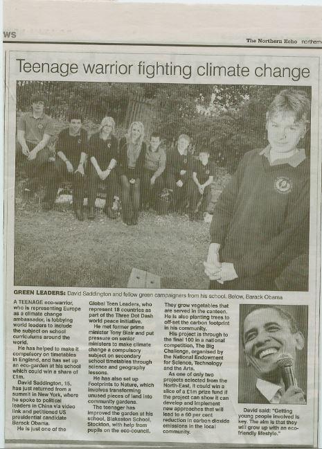 Evening Gazette 2010