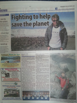 Fighting to save the planet