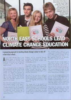 NE Schools Lead Climate Education