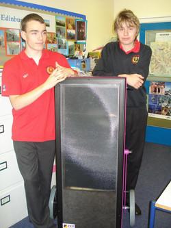 Solar Education at Blakeston