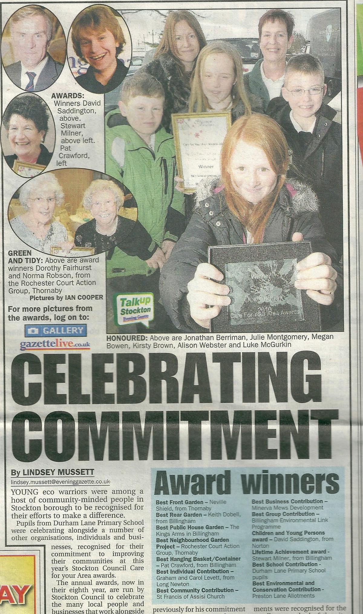 Community Champion 2009