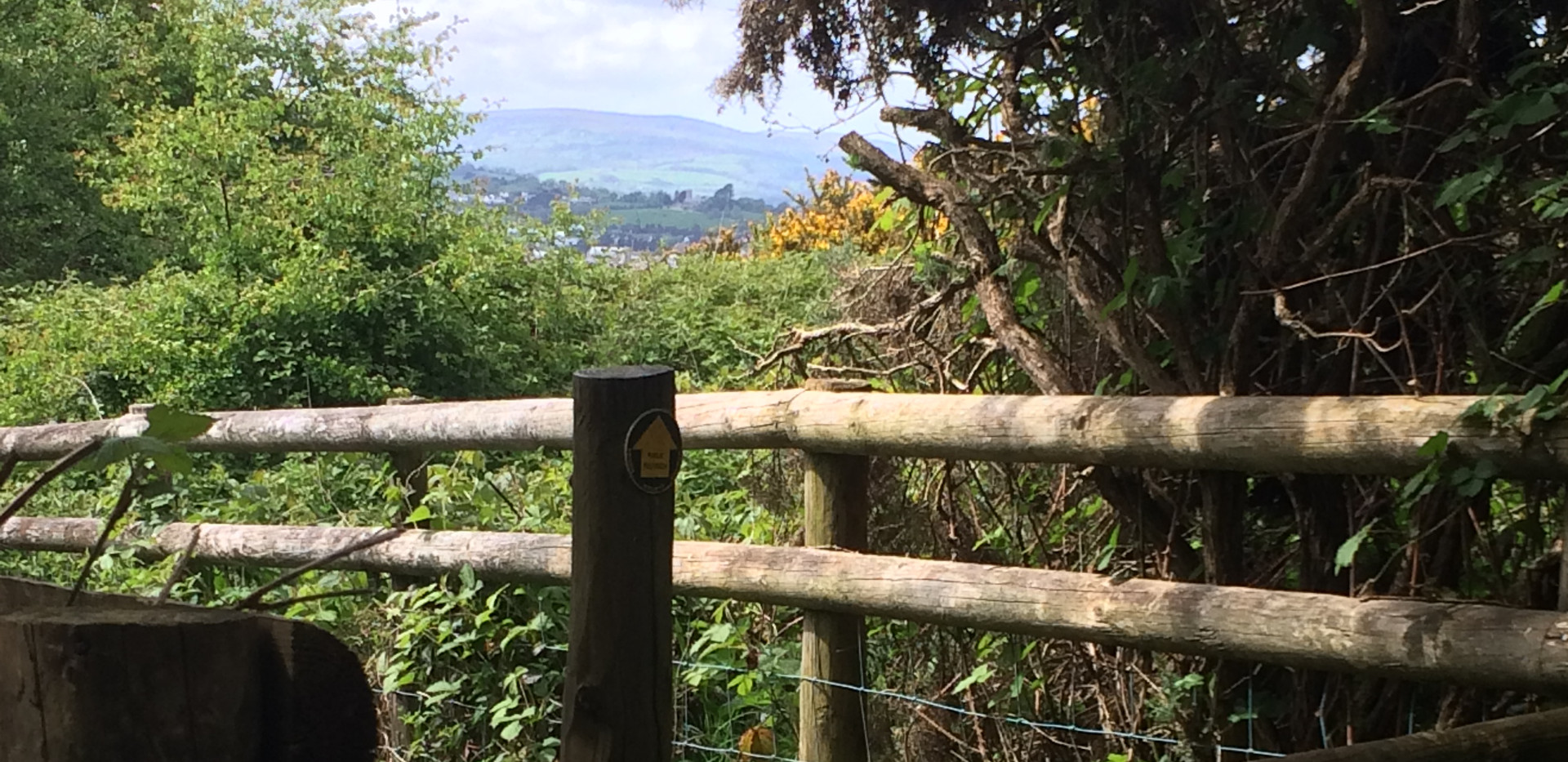 stile at the top of footpath no. 4