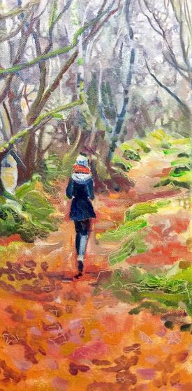 persephone in milber woods