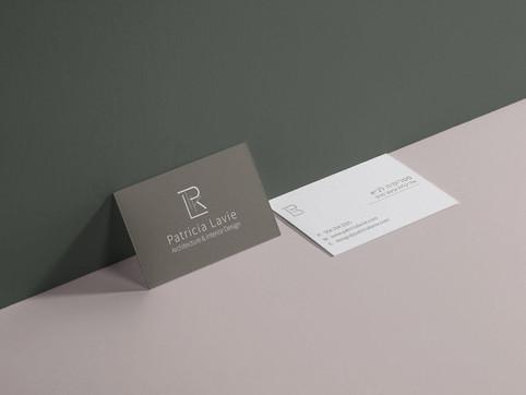 כרטיס ביקור לאדריכלית ומעצבצ פנים
