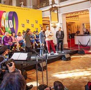 Pressekonferenz Musical The Band