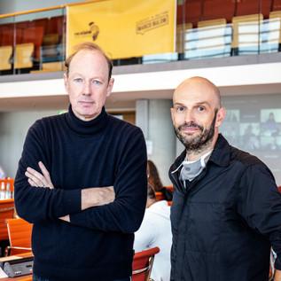 Marco Bülow und Martin Sonneborn