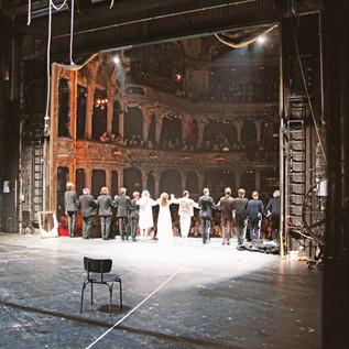 Backstage Reportage Die Räuber, am Berliner Ensemble