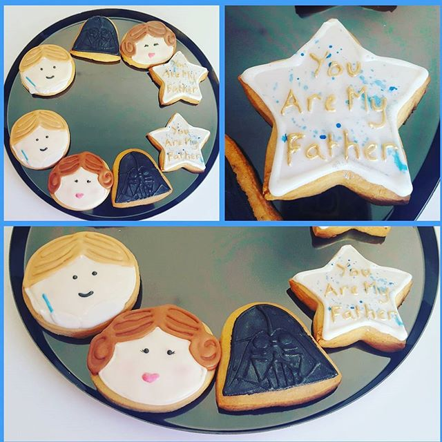 Father's Day Cookies. _These are an early cookie order for a very special dad