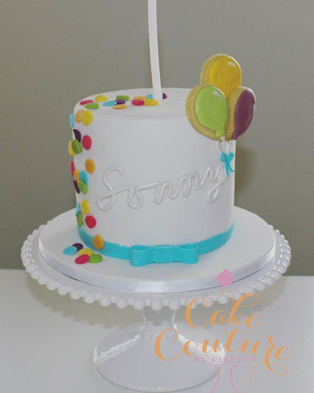 Sonny's first birthday_#1stbirthday #towercake #confetti #ballooncookies #townsvilleparties #birthda