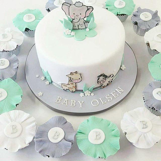 Baby Safari_#babysafari #babyshowercake #cute