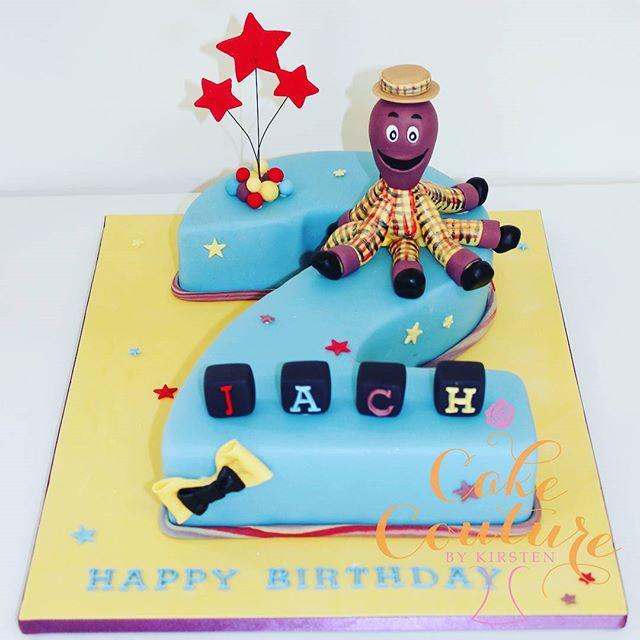 Henry the Octopus_#thewiggles #wigglescakes #henrytheoctopus #2ndbirthday #kidscakes