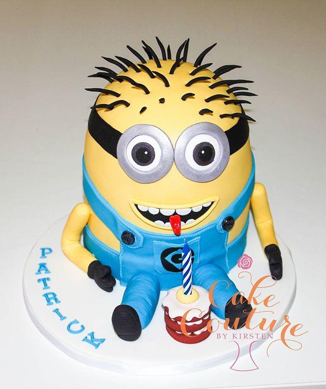 Minion cake_#minioncake #3dcake #minions #5thbirthdaycake