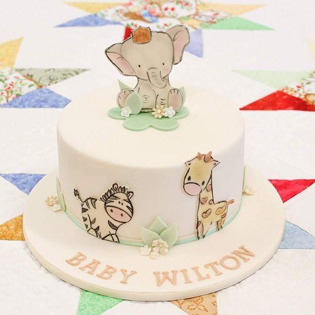 Baby Safari_#babyshowercake #cute #unknowngendercake