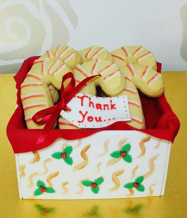 Cookie Box_#christmascakes #shortbread #christmas #cookiebox #giftbox #sweets #thankyou #townsvillep