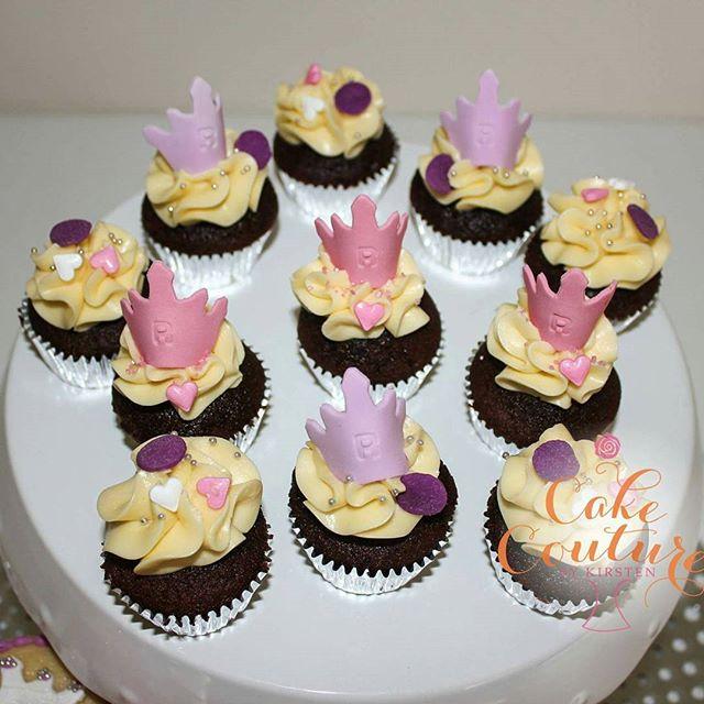 Princess Riley's Crowns_# 3rd birthday #minicupcakes #princesscupcakes #princesscrowns #cakecoutureb