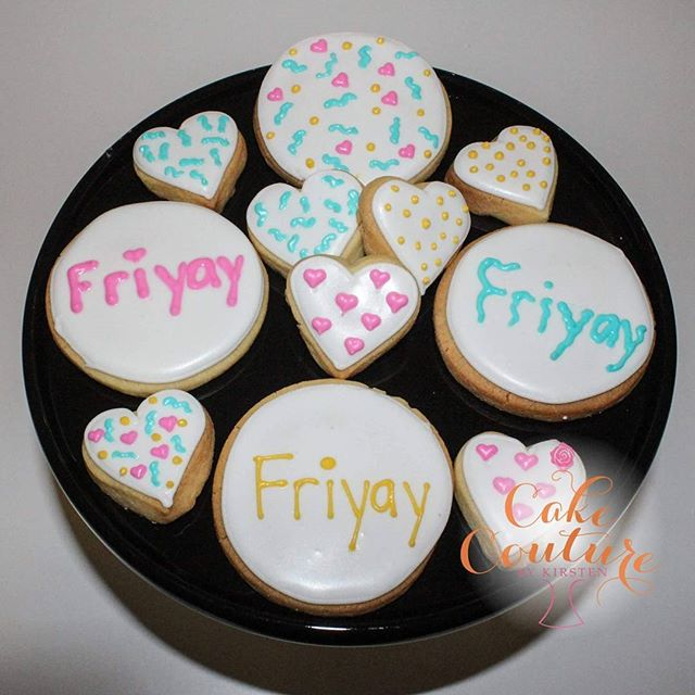 It's Friday Baby! A fun bright pack of cookies going out to celebrate the end of the week