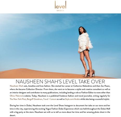 Nausheen Shah's Level Takeover