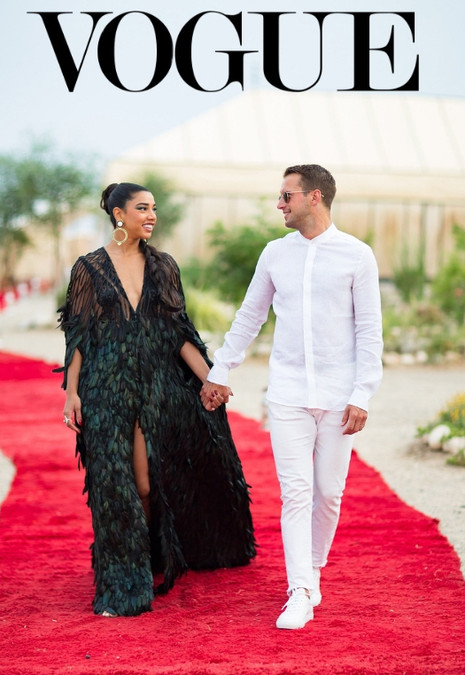 Vogue: Hannah Bronfman on the 8 Looks She Wore at Her 4-Day Wedding Weekend Extravaganza in Morocco