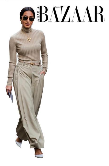 Harper's Bazaar Street Style