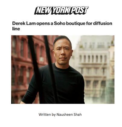 Derek Lam opens a Soho boutique for diffusion line
