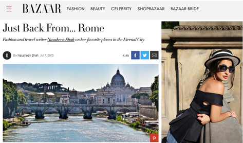 Just Back From… Rome