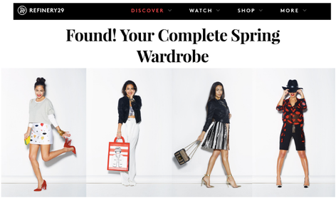Refinery29: Found! Your Complete Spring Wardrobe